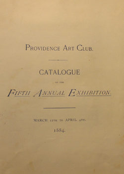 THUMBNAIL - 1884, March 12 to April 4, Fifth Annual Exhibition
