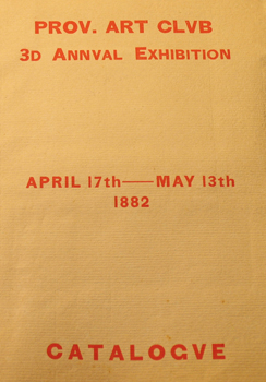 THUMBNAIL - 1882, April 17-May13, 3d Annual Exhibition