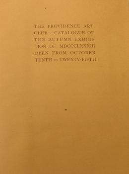 THUMBNAIL - 1883, October 10-25, Autumn Exhibition